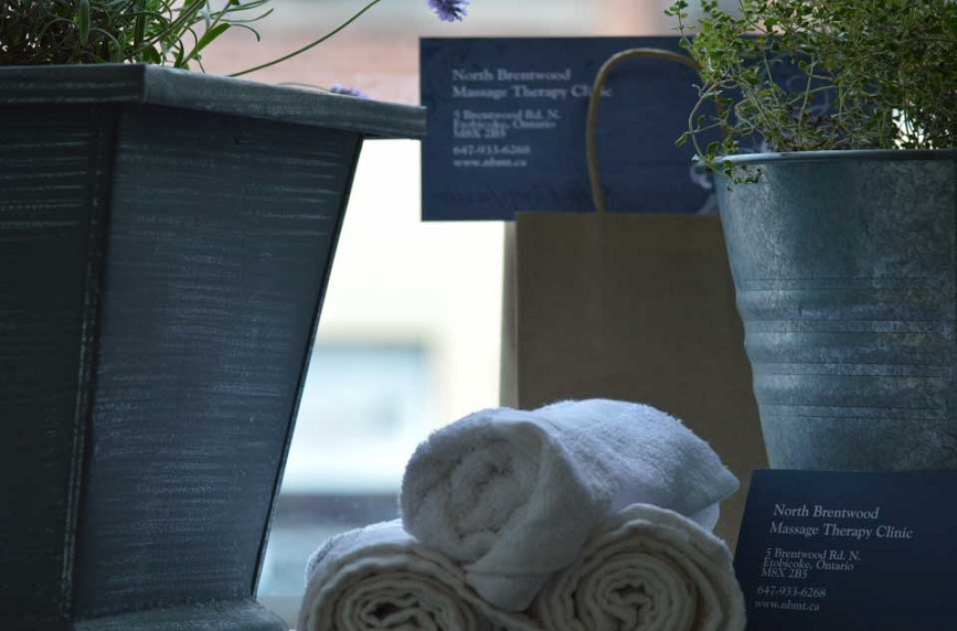 NBMT Gift Certificates and rolled towels