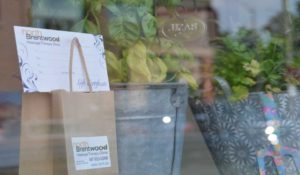 North Brentwood Massage Therapy Clinic Window with Gift Certificate